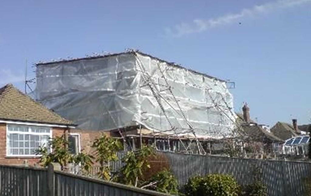 Temp Roof
